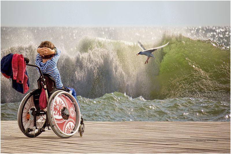 ребенок инвалид Лети...!photo preview