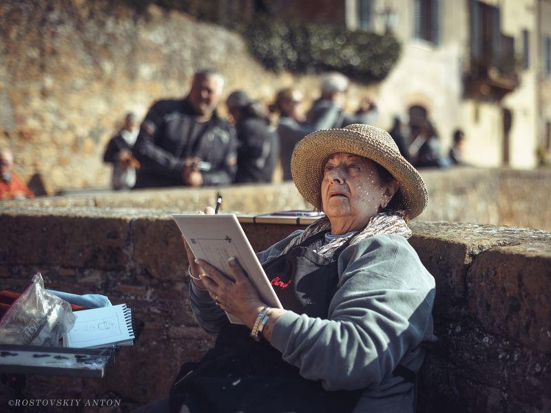 портрет, жанр, Италия, Тоскана, фототур Художницаphoto preview
