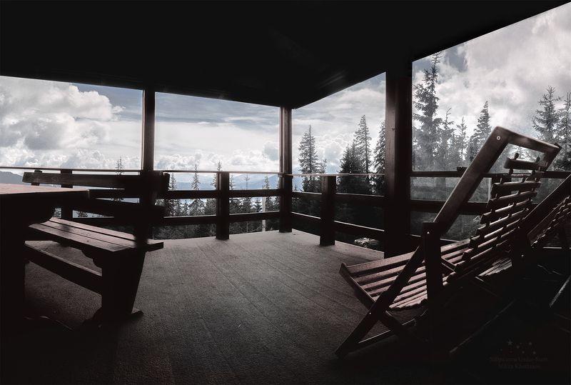 драгобрат, веранда, отдых, релакс, горы Верандаphoto preview