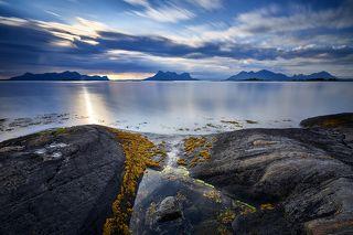 View of Lofoten islands