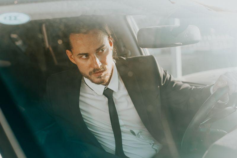portrait, man, cinema, car Уикphoto preview