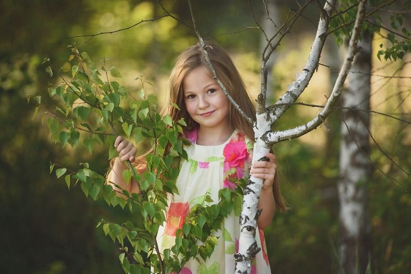 girl, portrait, west, tree, Inesphoto preview
