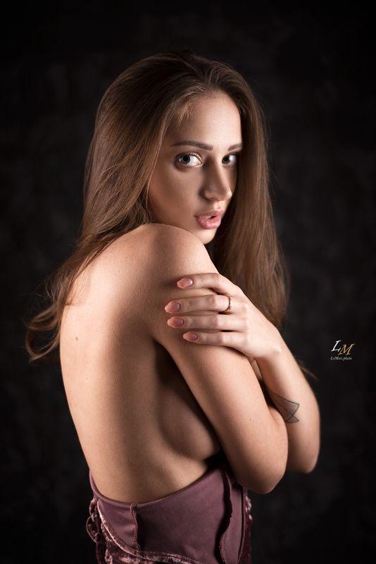 портрет, девушка, студия, фотограф москва, портретный фотограф, москва Марияphoto preview