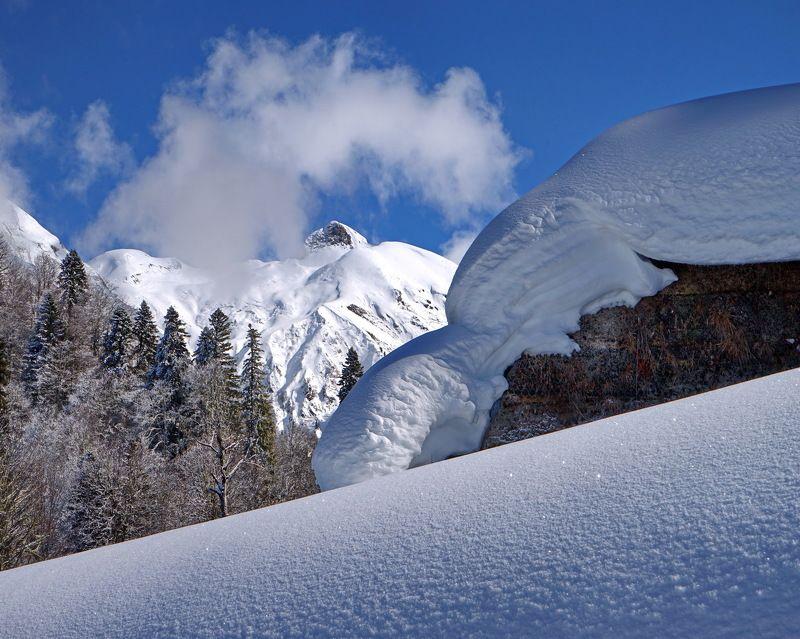 зима горы В горахphoto preview