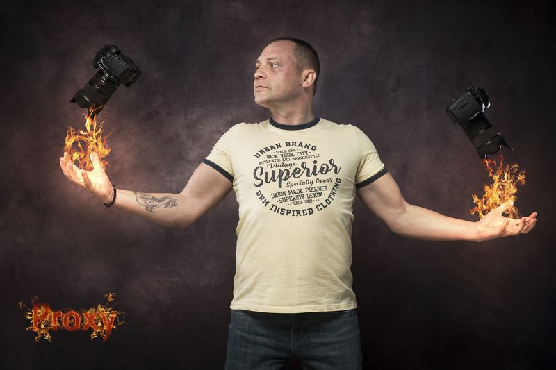 #man, #portrait, #fire, #studio,#art,#photo,#camera Fire and Passionphoto preview