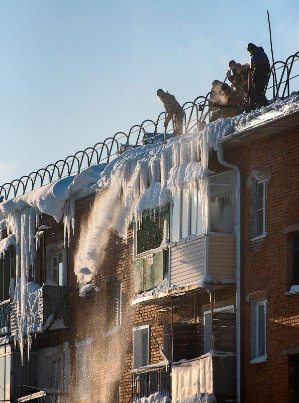 сосульки, мороз, солнце, крыша, шерегеш, горная шория, сибирь С 23 февраля, мужики!photo preview