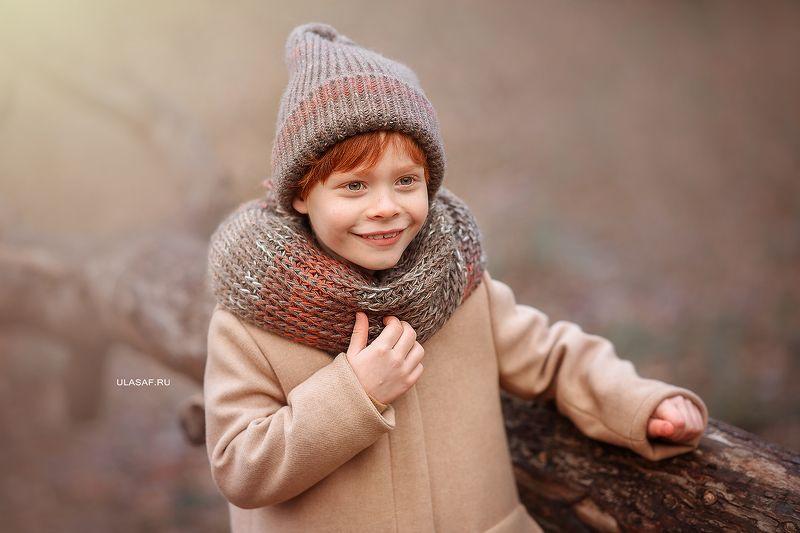 портрет, осень, мальчик, boy, autumn, лес, солнышко, лучи, sun, happy, happiness, сказка, волшебство, magik, рыжий, рыжик, red, зима, winter Егоркаphoto preview