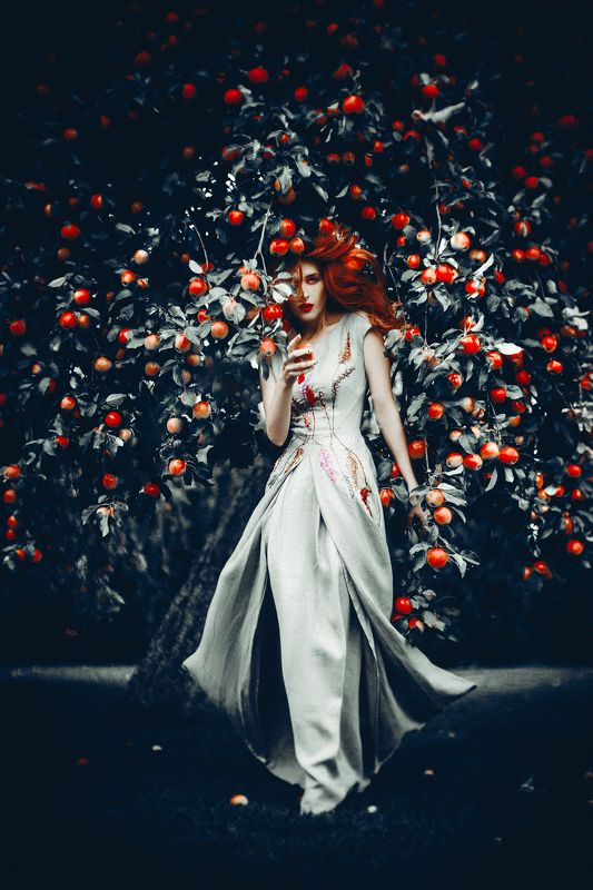 woman, beauty, fashion, art, outdoors And the Lord God planted a garden eastward in Edenphoto preview