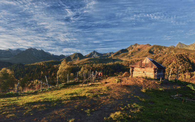 Утро на перевале Пхия...photo preview