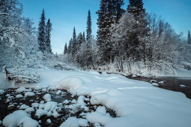 умболка, север, кольский, январь, хибины, мороз, изморозь, ***photo preview