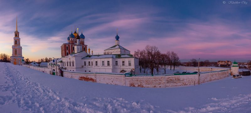 рязань Вечерний Кремль. Рязань.photo preview