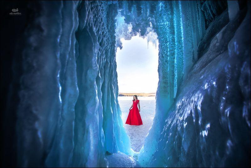 Россия, Байкал, зима, пейзаж, жанр В ледяном царстве...photo preview