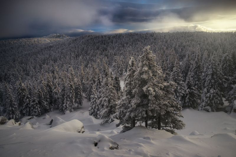 урал, таганай, зима В уютном местеphoto preview