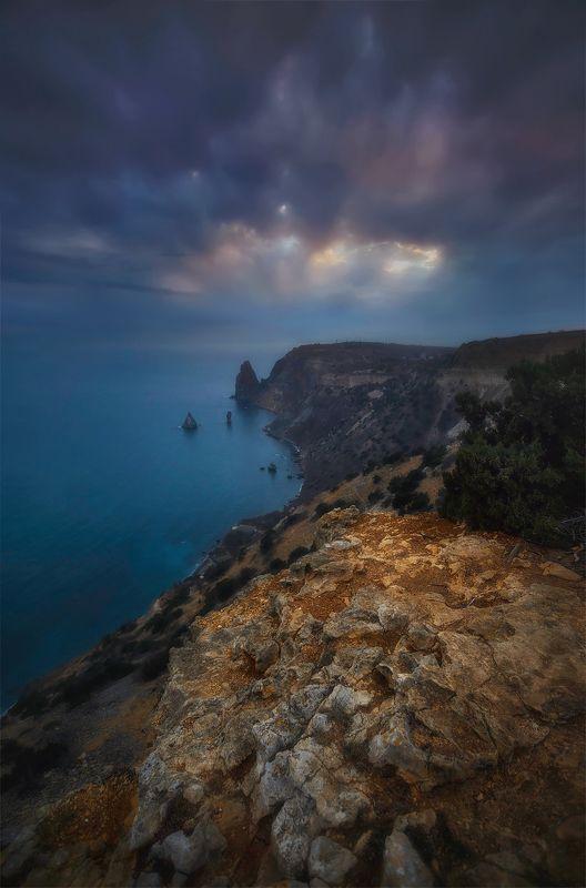 севастополь, крым, фиолент, пейзаж В февралеphoto preview