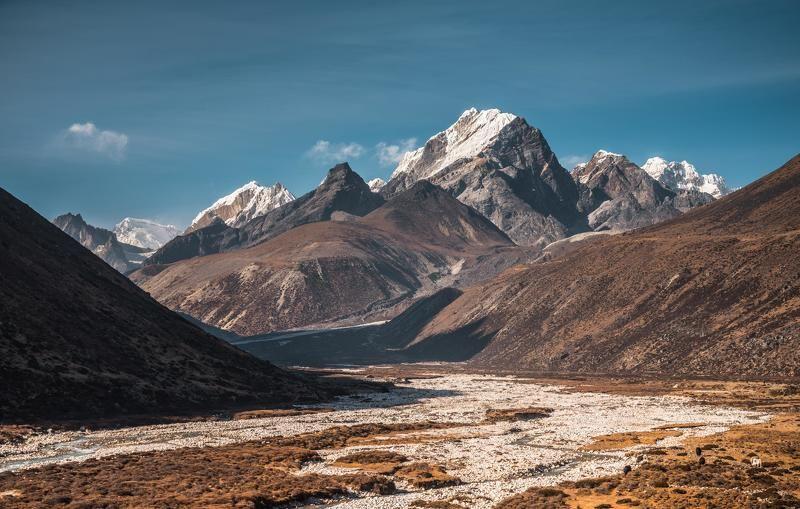 Непал, Гималаи, горы Скоро вечерphoto preview