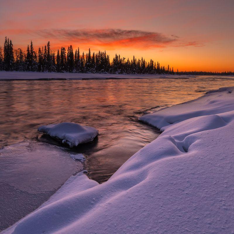 кольский, север,заполярье, умба, река, Умба.photo preview