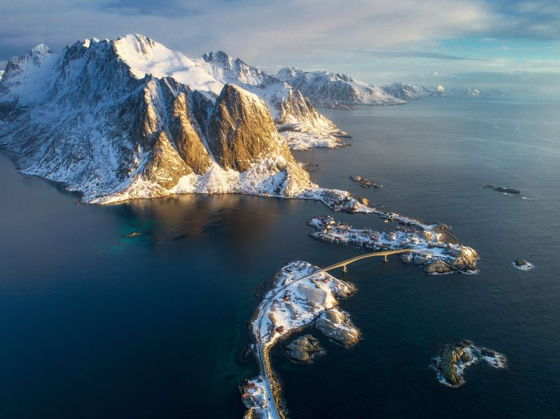 lofoten, norway The perfect morningphoto preview