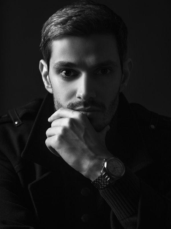 студийный портрет, мужской портет Артемphoto preview