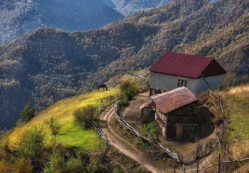 кавказ, дагестан Высокогорный Дагестан.photo preview