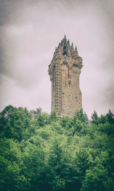 Wallace Monument Scotland Stirling. Wallace Monumentphoto preview