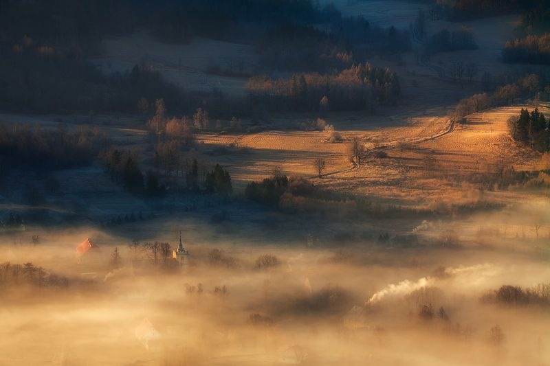 landscape,canon,mist,light,autumn The Road That We Are Travelling On....photo preview