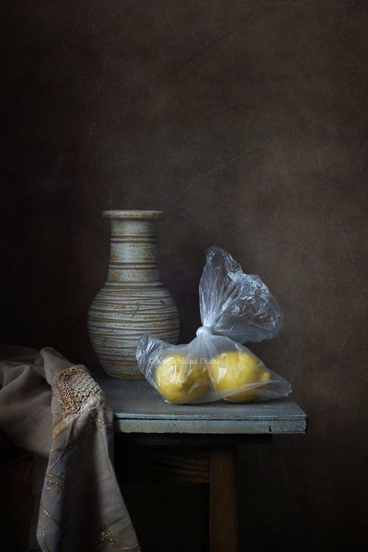натюрморт, лимоны Два лимона.photo preview