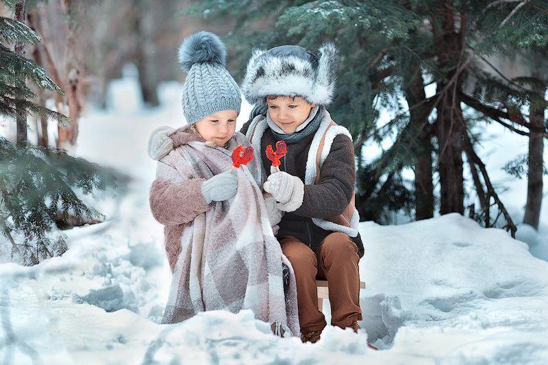 фотопрогулка, семейная фотосессия, зима, дети, детская фотосессия, детский фотограф, фотосессия, радость, счастье, мороз, снег, зимняя радость, детское фото, дети на фото, маленькие дети, девочка, мальчик, семья, семейное фото, лес, вечер, восторг До свидания, зимушка-зима!photo preview