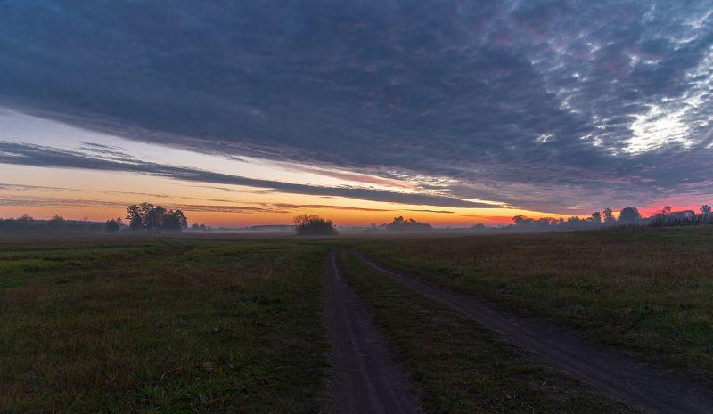 октябрьский рассвет...photo preview