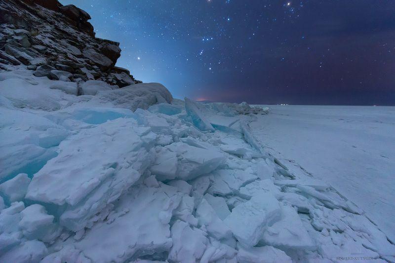 #бурхан #шаманка #байкал #хужир #лёд #лед #трещина #байкальский_хребет #звёзды #ночь ...photo preview