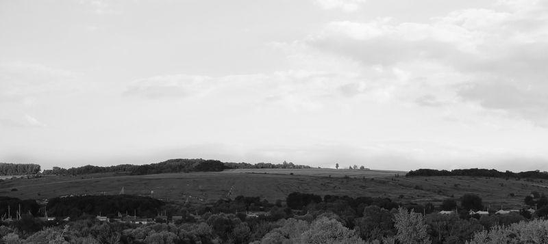 малая родина, поля российские просторы ,деревня Триптих Родные краяphoto preview