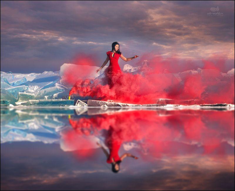 Байкал, зимний, Россия, пейзаж, фотопутешествие Две стихии Байкала...photo preview