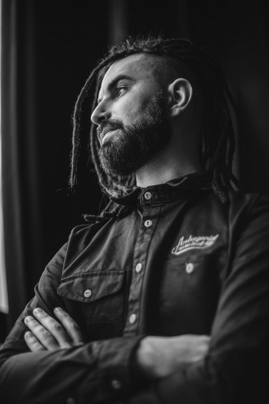 портрет, мужской портрет, zamirasozieva, guitarist, misician, музыкант, гитарист Коляphoto preview