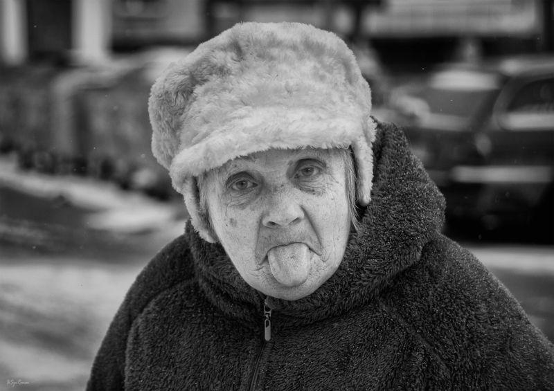 женщина,,жанр,улица,портрет В лицах ...photo preview