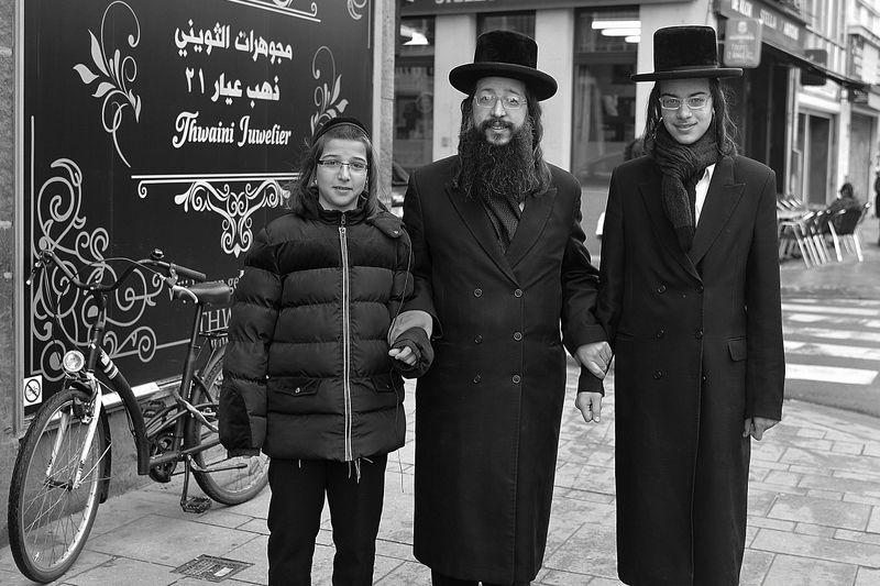 The jews of Antwerp.photo preview