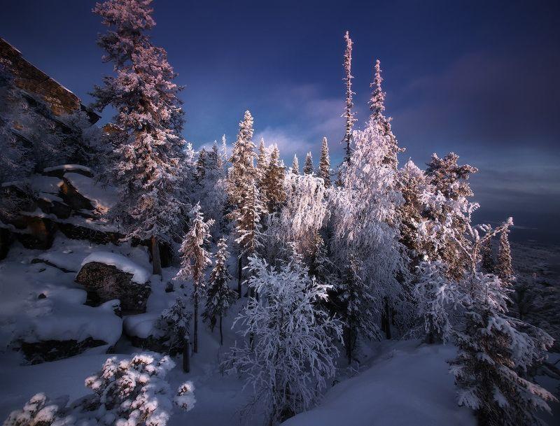урал, горы, малиновая, белорецк, зима, уральскиегоры В гостях у зимыphoto preview