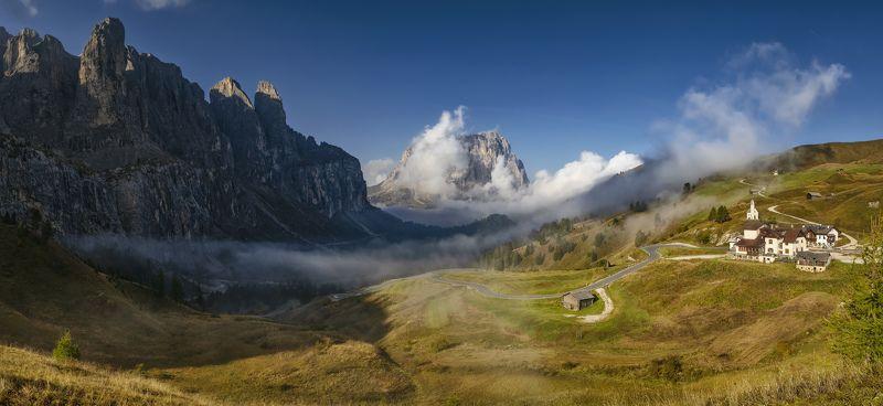 италия, альпы остатки туманаphoto preview