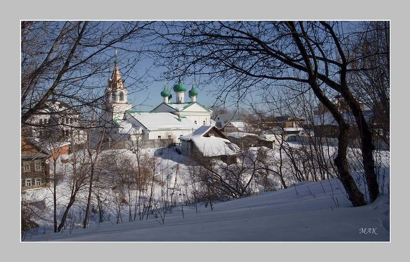 Зима в Печорской Слободеphoto preview