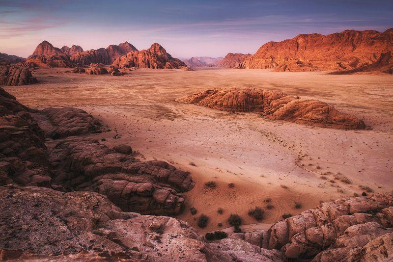 mountains, jordan, landscape, wadi rum, sunset, desert, light, colors, winter, warm, composition, horizon, sand Sandcastlesphoto preview