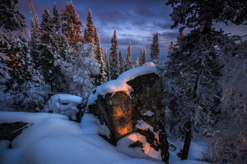 урал, горы, малиновая, белорецк, зима, уральскиегоры Зимним днемphoto preview