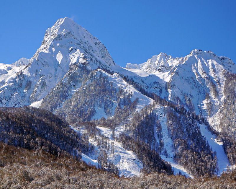 зима горы. На склонах г. Аибгаphoto preview