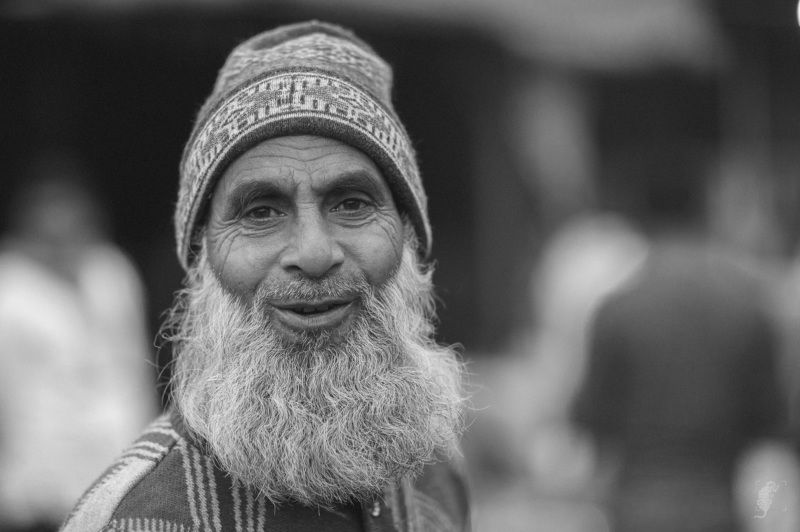 India, People, portrait, Man, Old Man, Candid B/W, monochrome Mullajiphoto preview