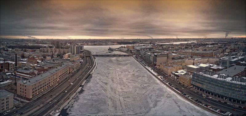 санкт-петербург_нева_аврора_сампсониевский мост_набережные_петроградская сторона Нева.photo preview
