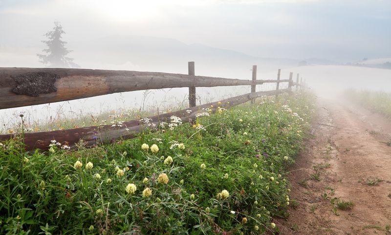 Даль подернулась туманом...photo preview