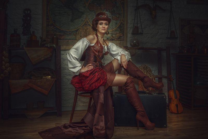студия, портрет, portrait, rekhov Анастасияphoto preview