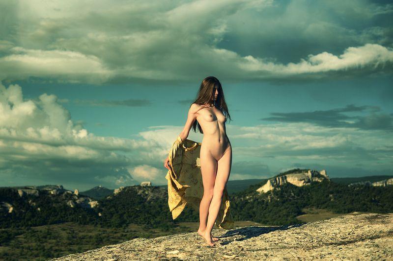 девушка, модель, ню Настяphoto preview