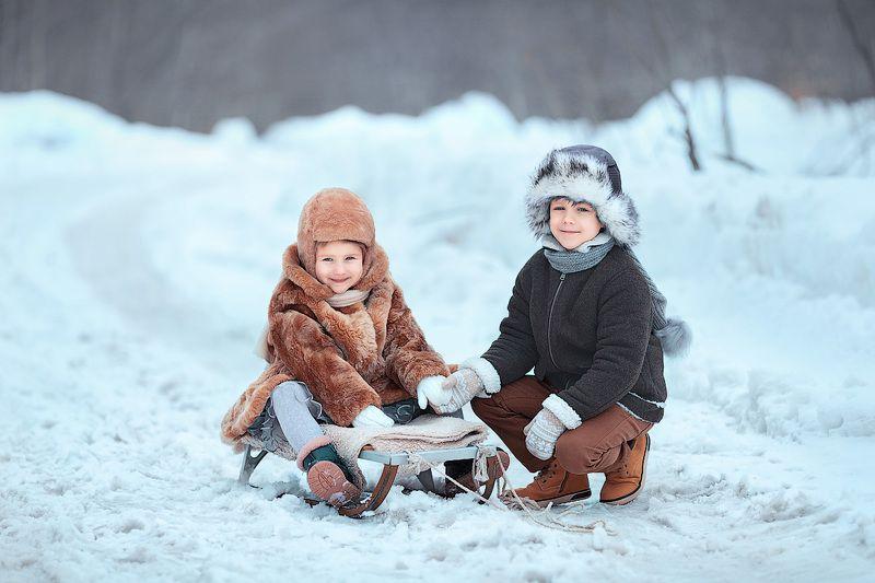 фотопрогулка, детство, зимняя радость, фотосессия, детский и семейный фотограф, улыбки, смех, радость,мечта, счастье, зима, мальчик, девочка, дети, эмоции, снег, счастье, восторг Детствоphoto preview