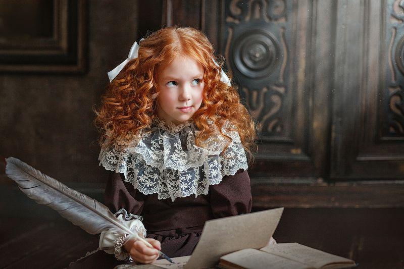 девочка Письмо в будущееphoto preview