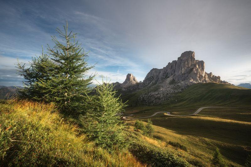 Доломиты, фототур, фотопутешествие, альпы, доломитовые, горы, лиственница,  Доломитовое спокойствиеphoto preview