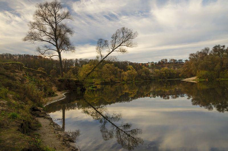 nevant60, пейзаж, красота, река, осень Поздняя осеньphoto preview