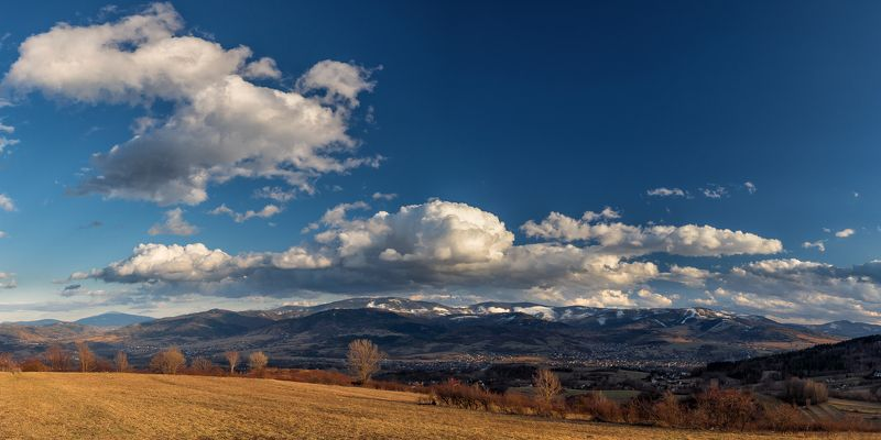 Beskidy cloudscapephoto preview